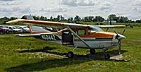 The plane - a Cessna 206